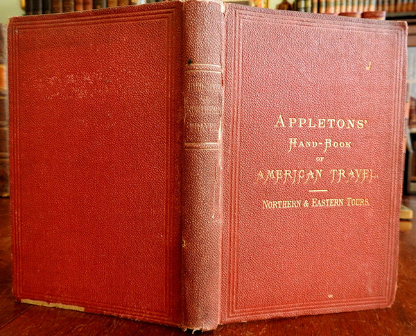 Appleton's Handbook of American Travel New England Canada 1873 illustrated guide