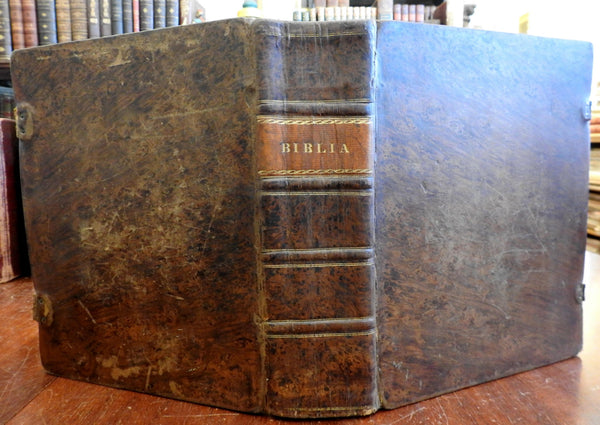 Holy Bible Old & New Testament 1838 Pennsylvania Dutch German Family Bible