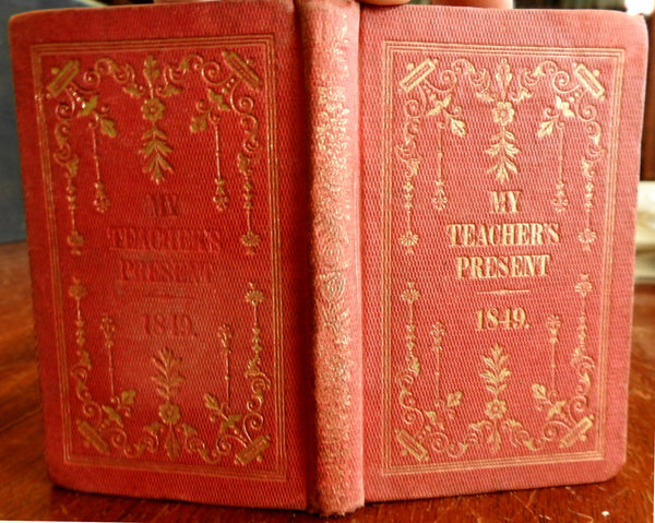 My Teacher's New Year's Present 1849 F.T. Gray collected poems & short stories