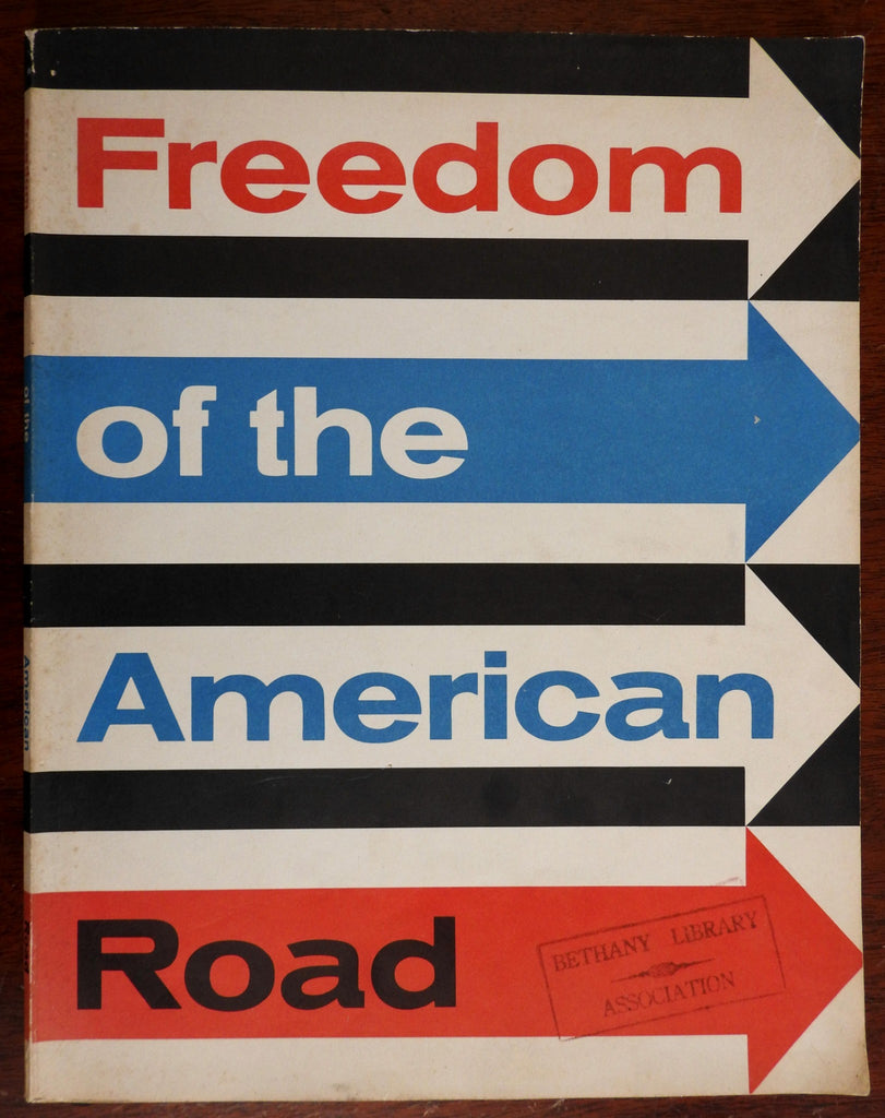 Freedom of the American Road c. 1958 Ford Motor Company Highway System booklet