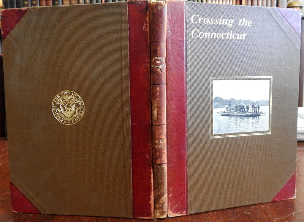 Crossing the Connecticut 1908 Wright New England illustrated local history