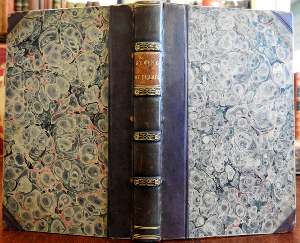 The String of Pearls Orientalist Literature 1833 leather American edition