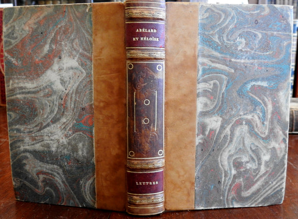 Letters of Abelard and Heloise 1890's French edition nice antiquarian book