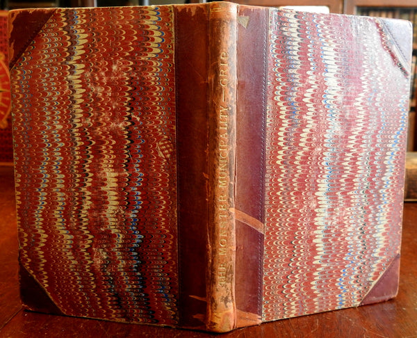 Monster Municipality Gog & Magog Reformed Dream 1882 leather antiquarian book