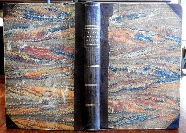 Charles Dickens Cricket on the Hearth 1st ed & The Amber Witch 1846 rare book