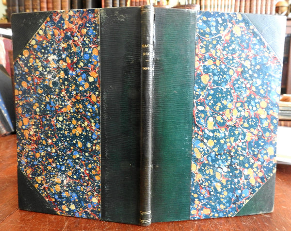 Hacentus 1848 Martin Tupper poetry beautiful leather book