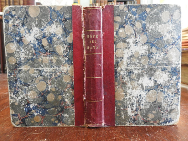 American Indians Hope & Have 1866 Oliver Optic adventure book for children
