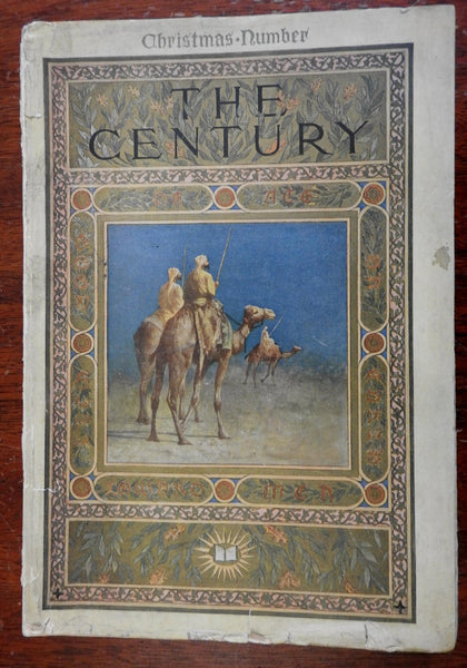 Century Magazine December 1913 Christmas edition lovely ads & artwork