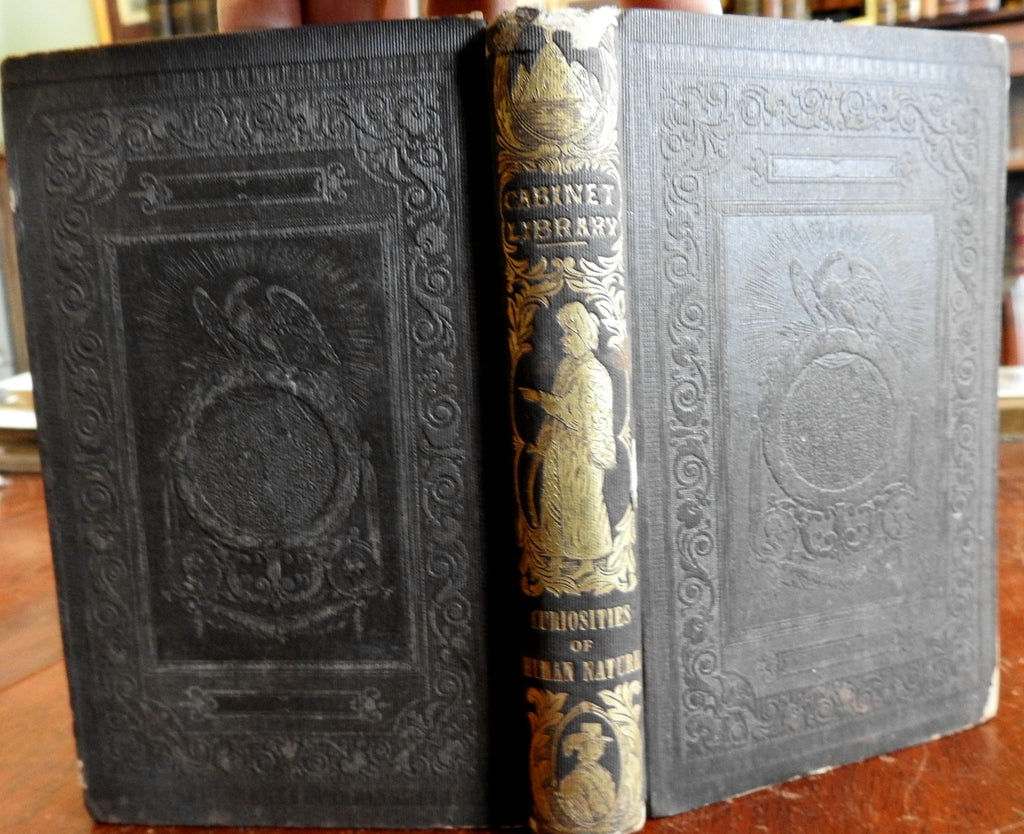 Curiosities Human Nature 1849 Goodrich illustrated ethnographic book conjoined