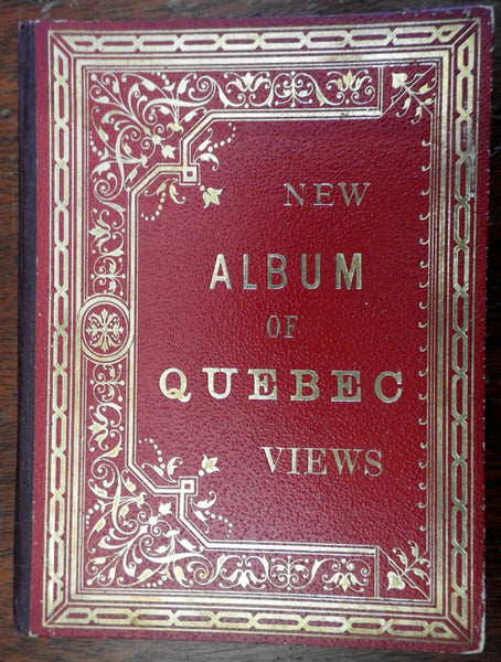 Quebec city Canada Views c. 1889 Souvenir Tourist Photo Album views