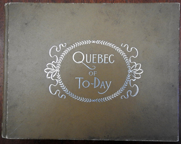 Quebec Canada 1894 souvenir photo album 24 albertype rotogravure print views