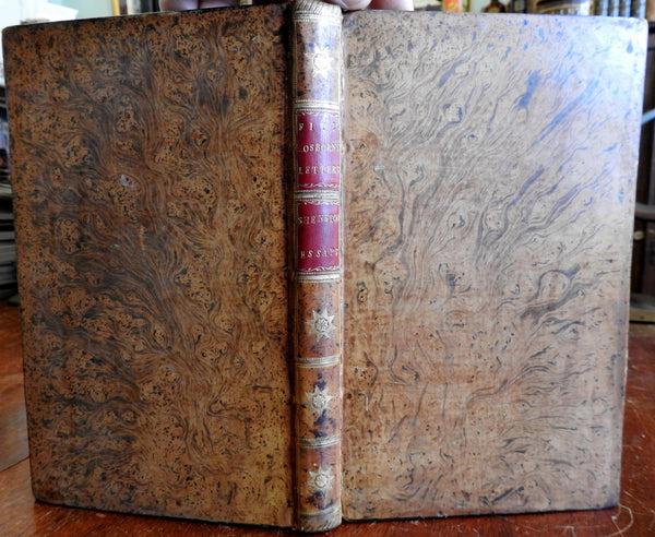 Essays on Men Manners Society Letters 1787 Fitzosborne rare fine book Shenstone