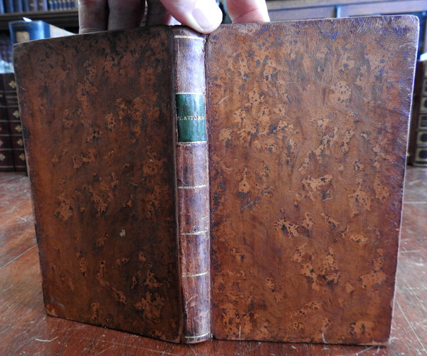 New England Churches 1808-12 Baptism Platform Doctrines collected leather book