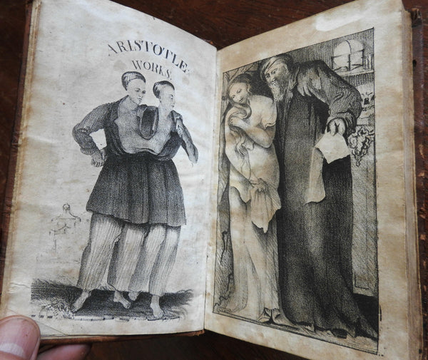Aristotle Collected Works Midwifery 1826 Women's Health Pregnancy Anatomy