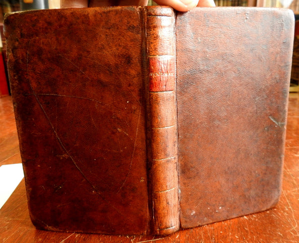 Collected Remarks on Sundry Subjects 1805 John Woolman Americana leather book