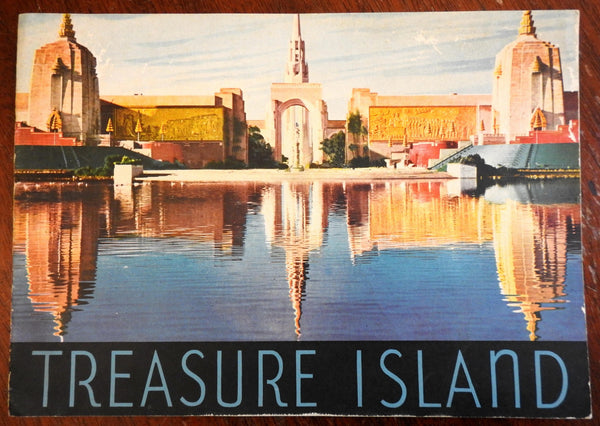 San Francisco 1939 Fair Exhibition Treasure Island in Pictures souvenir booklet