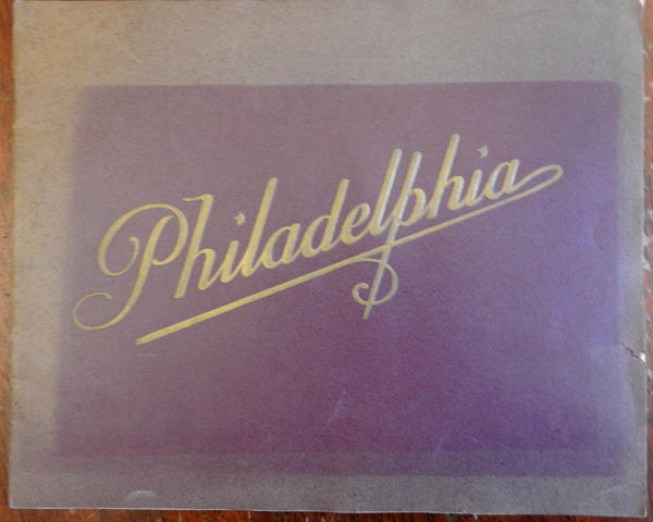 Philadelphia Pennsylvania c. 1890's tourist souvenir photo album many city views
