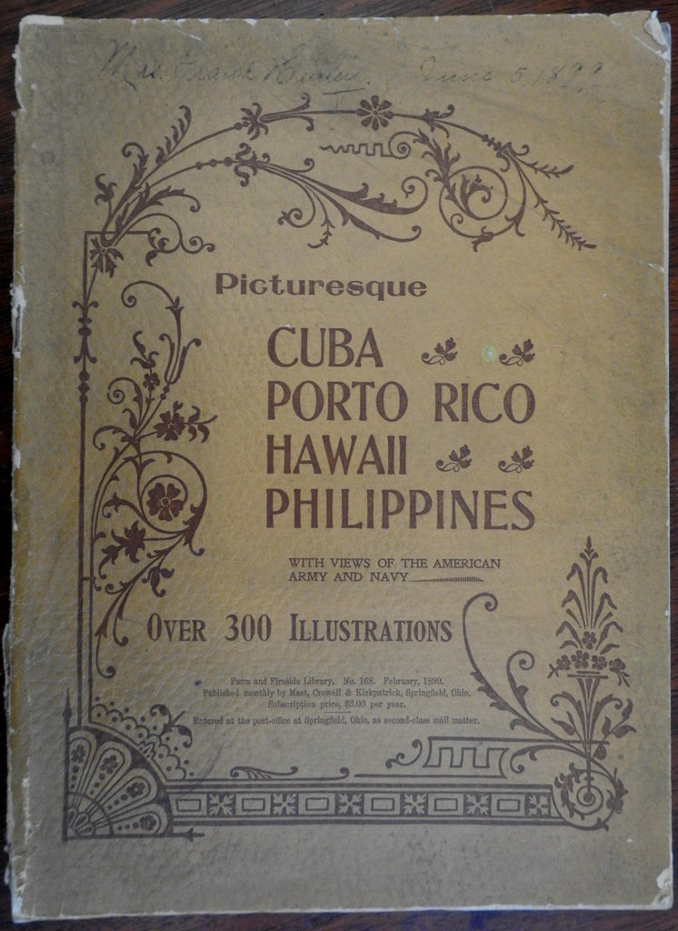 Hawaii Picturesque Cuba Puerto Rico Philippines 1899 scarce pictorial magazine