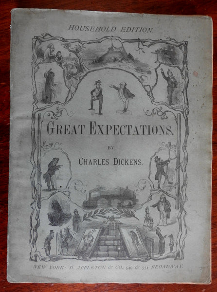 Great Expectations 1876 Charles Dickens Household Edition Fraser illustrated