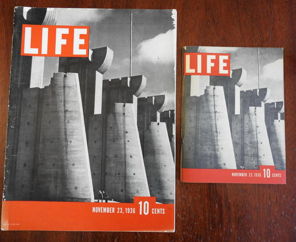 Life Magazine Issue #1 November 23rd 1936 w/ small format version 2 issues