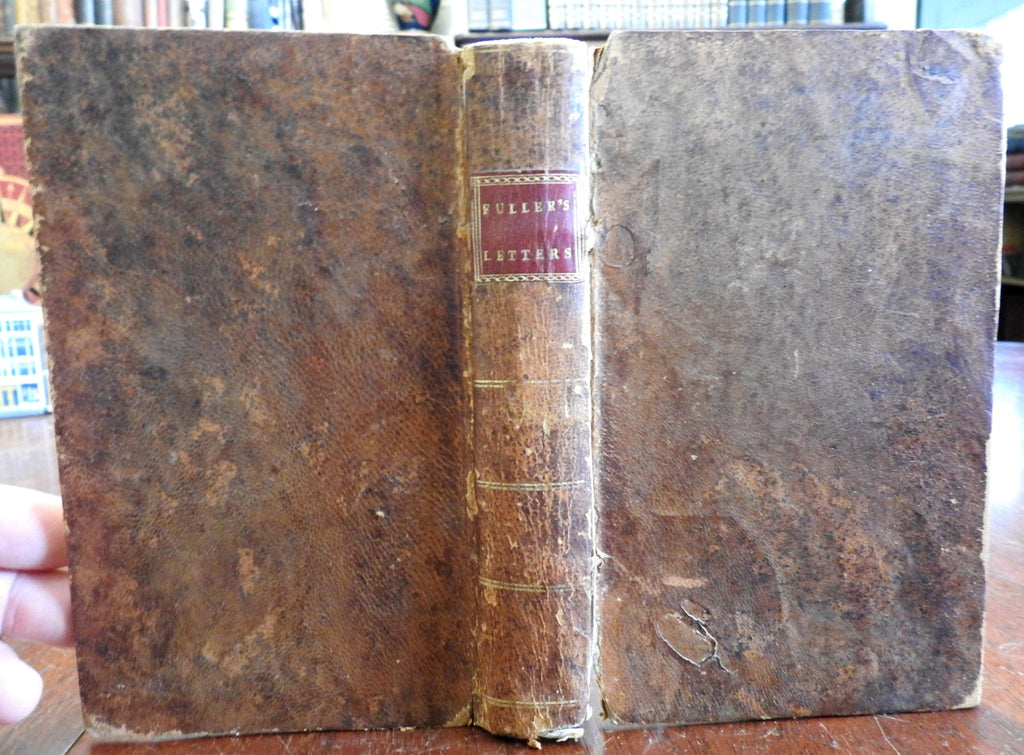 Early American Religion Calvinism & Socianism Refuted 1796 Phila leather book