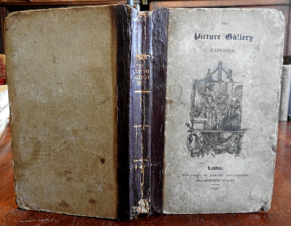 The Picture Gallery Explored World History 1824 illustrated antiquarian book