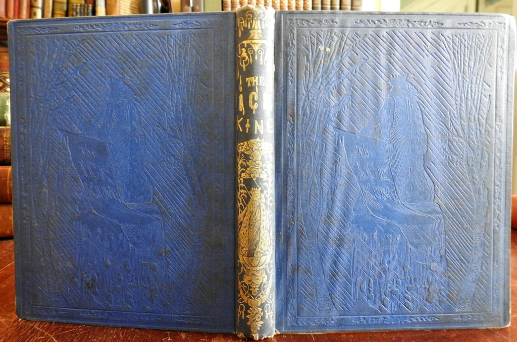 The Ice King Caroline Butler 1853 illustrated children's book w/ 8 plates