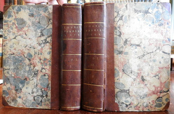 Farmer's Tour Eastern England 1771 Agriculture Farming detailed study 2v set