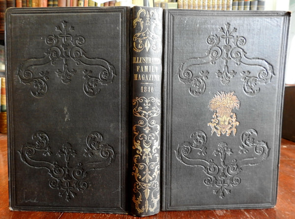 Illustrated Family Magazine 1846 SDUK 9 periodicals wood engravings rare book