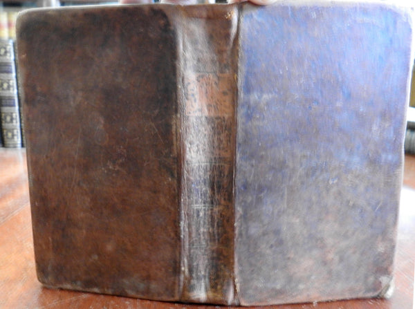 Rev. Charles Book Christianity Religious Essays 1814 antiquarian leather book