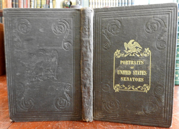 Portraits of United States Senators 1856 Antebellum Senate illustrated rare book