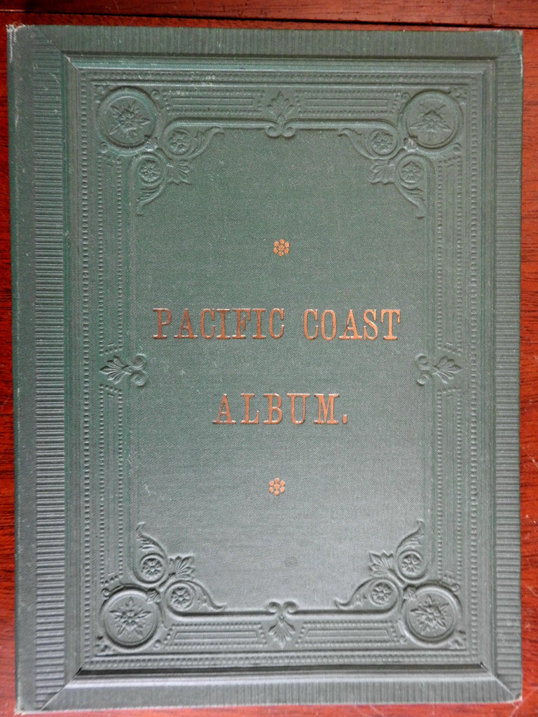 Pacific Coast Album California San Francisco Yosemite Valley 1890's tourist book