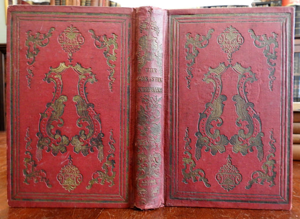 Christian Keepsake 1851 Gift Book Illustrated Literature Poetry decorative book