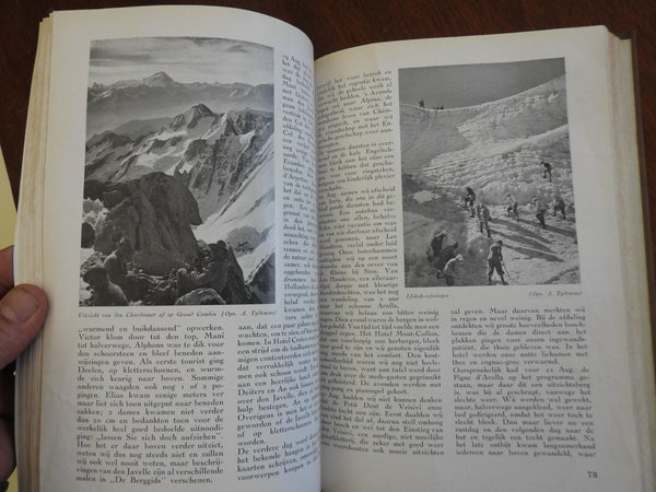 The Mountain Guide World War II era Dutch Journal Mountaineering 1940-41 book