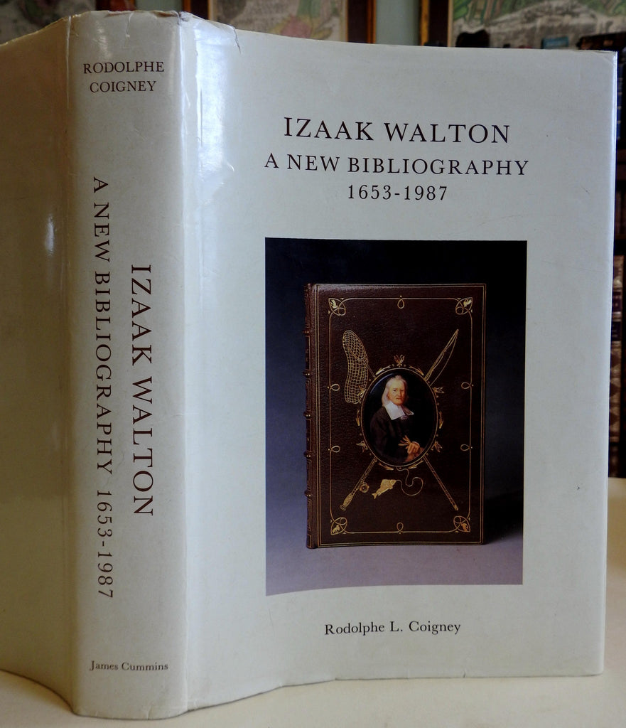 Izaak Walton Bibliography Rodolphe Coigney 1989 signed limited hard cover book