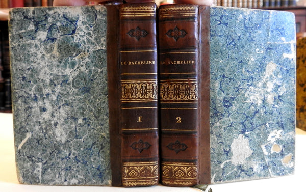 Bachelor of Salamanca Alain-Renee Lesage 1824 French literature 2 v. leather set