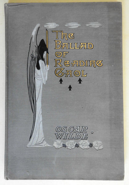 The Ballad of Reading Gaol Oscar Wilde 1898 Lather Wilson Illustrated old book
