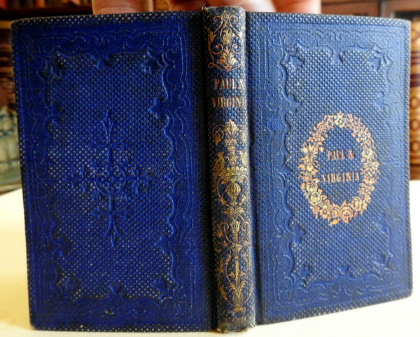 Paul and Virginia c.1850 French Literature St. Pierre English Translation book