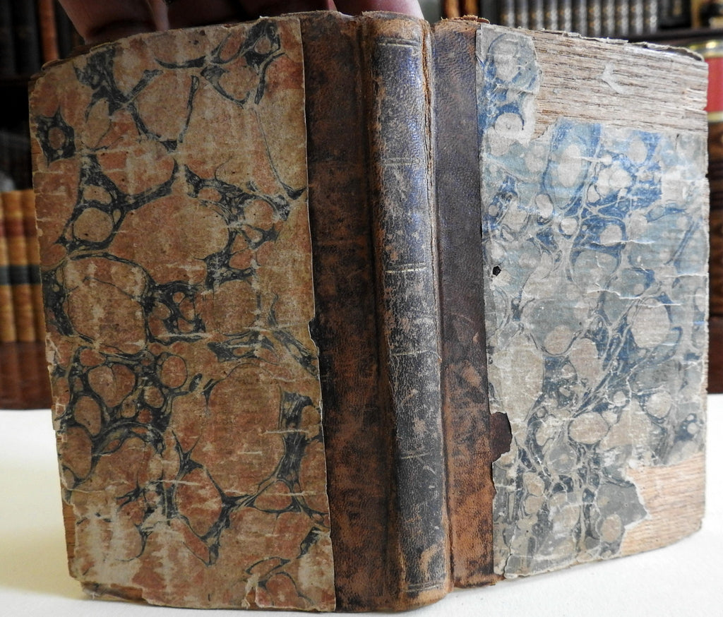 Charles James Fox Biography w/ portrait 1811 early American wooden covers book