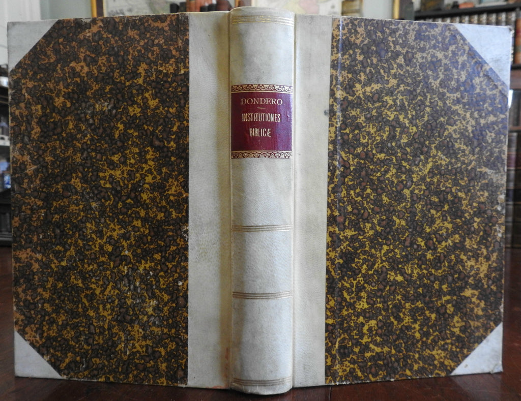 Biblical Teachings of Pope Leo XIII Catholicism 1902 lovely vellum binding