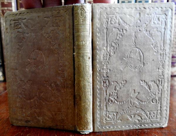 Poetical Works of Oliver Goldsmith Irish poet 1843 pocket edition