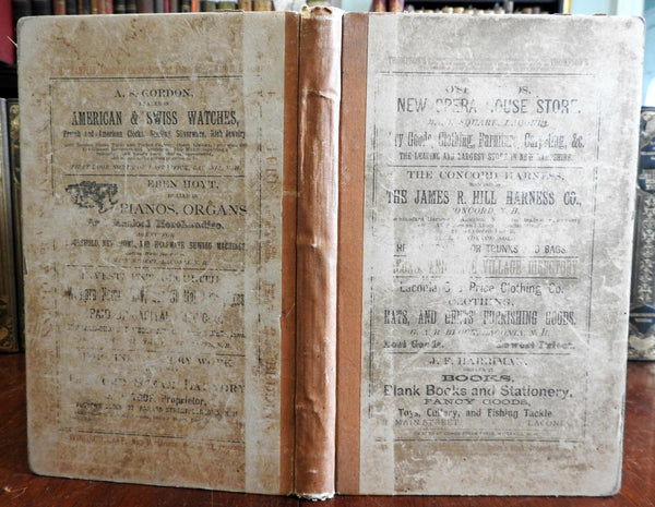 Laconia & Lake Village New Hampshire Business and Street Directory 1888 old book