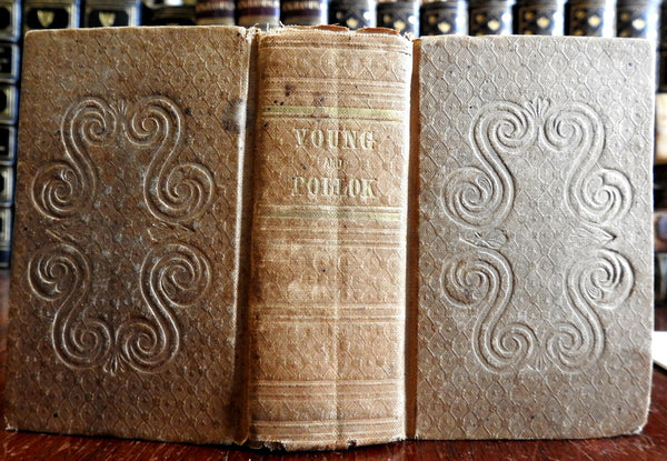 Complaint & Course of Time English Poetry 1839 Young & Pollok 2 v. pocket book