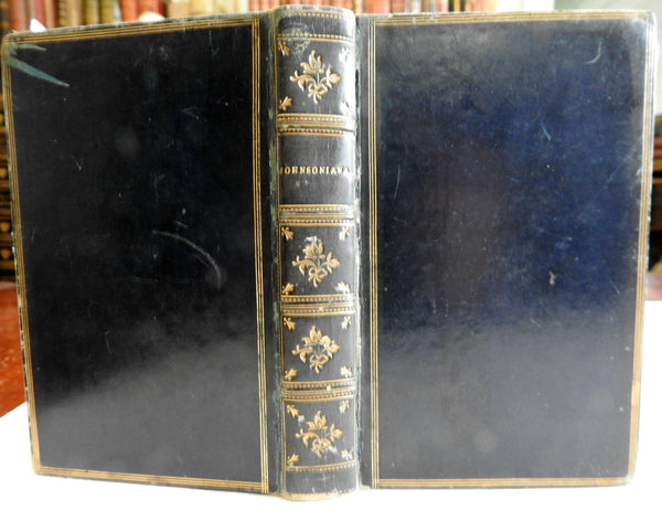 Johnsoniana - Exerpts from Boswell's Life of Johnson 1820 nice leather book