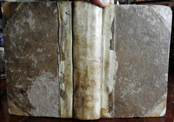 Religion Christianity Book of Genesis Biblical Commentary 1763 rare German book