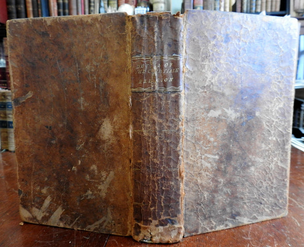 Doctrines & Duties of Christian Religion Joseph Lathrop 1810 Isaiah Thomas book
