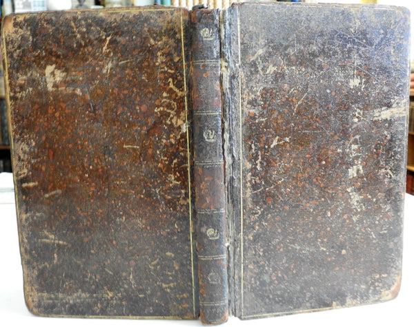 Robert Dodsley Collected Works Cleone Agriculture 1780's leather book