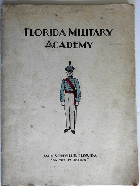 Florida Military Academy 1929 rare Recruitment Book Illustrated Guide catalogue