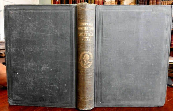 Collected Essays Smithsonian Institute Archaeology Aurora Borealis etc 1856 book