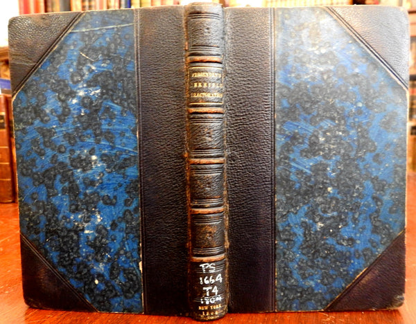 Terrible Tractoration 1804 Medical Satire by Thomas Green Fessenden leather book